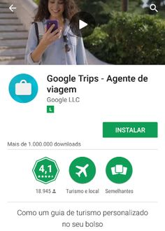 Google Trips permite se organizar e acessar roteiros de viagem offline