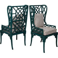 GuildMaster Bamboo Wing Back Chair 692502P