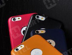 Wycofywane z oferty   Slim etui iPhone 6 ze skóry ekologicznej marki Remax różowe   EKLIK - Sklep GSM, Akcesoria na tablet i telefon