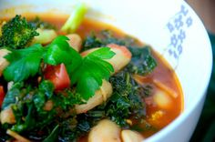 White Bean, Kale and Garlic Soup | The Source Bulk Foods