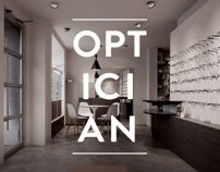 OPTICIAN by Willing and Able , via Behance