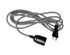Textilní kabel s objímkou a zástrčkou House Doctor, Muuto, Decoration, Headphones, Lights, Design, Light Fixture, Accessories, Cable