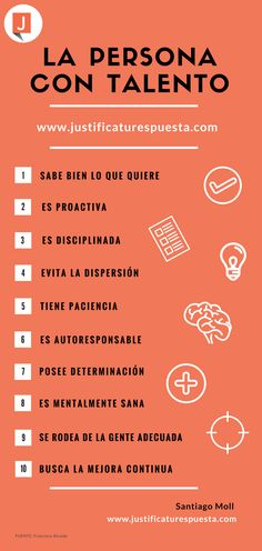 10 Qualities of talented people.