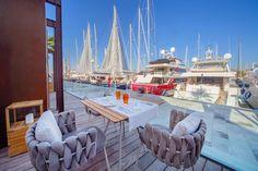 Restaurant Mar de Nudos am Hafen von Palma de Mallorca.