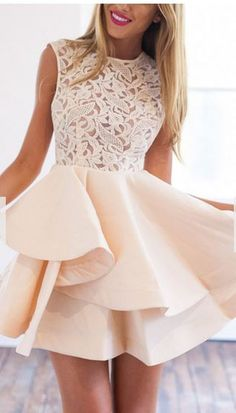 30 Summer Dresses Under $30 Fitted Prom Dresses, Champagne Homecoming Dresses, Prom Girl Dresses, Cute Homecoming Dresses, A Line Prom Dresses, Mermaid Prom Dresses, Trendy Dresses, Cheap Prom Dresses, Short Dresses