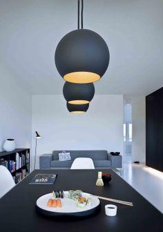 Apartamento en blanco y negro, de Norm Architects