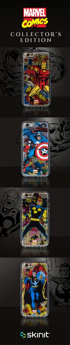 Marvel Collector's Edition | Limited edition transparent cases inspired by the…