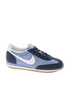 Nike Oceania Textile Low Blue Trainers