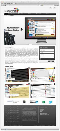 Strategy Pal by Andrew Dewdney , via Behance Strategic Planning, Web Design, Management, Behance, Business, Design Web, Store, Business Illustration, Website Designs