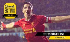 Carra's Best XI Striker: Luis Suarez