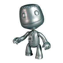 "Little Big Planet Series 3 Action Figure - Platinum Sackboy - Mezco Toyz - Toys ""R"" Us"