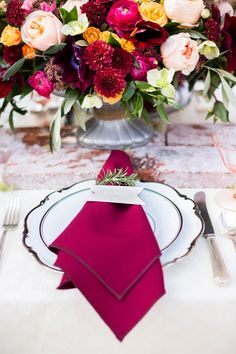 Beautiful table decor: http://www.stylemepretty.com/california-weddings/2015/05/13/old-mill-villa-inspired-shoot/ | Photography: Sally Pinera - http://www.sallypinera.com/