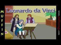 Muffin Stories - Leonardo da Vinci | Childrens Tales, Stories and Fables   (wk6)