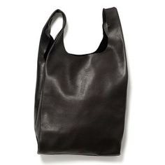 BAGGU: Leather BAGGU Small Black, at 29% off!