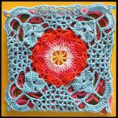 Knitted Afghans, Crochet Blanket Patterns, Crochet Table Runner, Square Blanket, Crochet Granny, Crochet Flowers, Doilies, Crochet Projects, Blankets