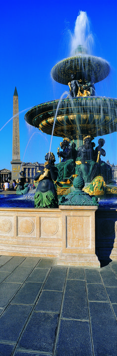 Place de la Concorde Fountain, Paris