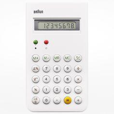 Braun pocket calculator