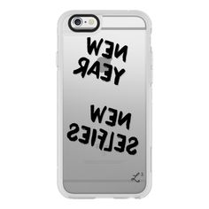 iPhone 6 Plus/6/5/5s/5c Case - New Year New Selfies - Happy New Year (55 CAD) ❤ liked on Polyvore featuring accessories, tech accessories, phone cases, iphone, phone, iphone case, iphone cover case, apple iphone cases and iphone hard case
