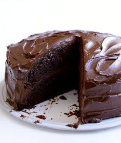 Made this, used whipping cream for the middle and draped the cake in a chocolate ganache recipe DELICIOUS and super moist! Ganache 1 1/3 cups of Semi-sweet chocolate chips with 1 cup heavy cream-melt together