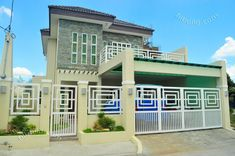Affordable House Construction l Custom Home Design Philippines - New Ideas Luxury Condo, Luxury Homes Interior, Custom Home Designs, Custom Homes, Winfield House, Philippine Houses, Philippines House Design, Filipino Architecture, Two Storey House Plans