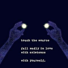 all is within you ...