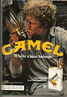 Old cigaret ads are so fun