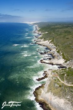 The magnificent and dramatic De Hoop Nature Reserve coastline in the Southern Cape area, home of the Whale Trail