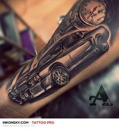 Tattoo by Antonio Alarcon