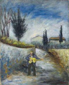 Ottone Rosai, Il cantastorie, 1946