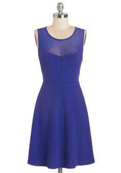 Berry Contemporary Dress. One way to sweeten up your look for a special occasion is to adorn yourself in this blueberry-hued dress from Jack by BB Dakota. #blue #modcloth