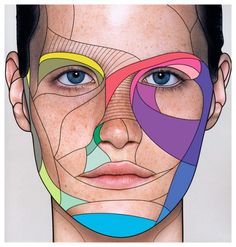 face + illustration