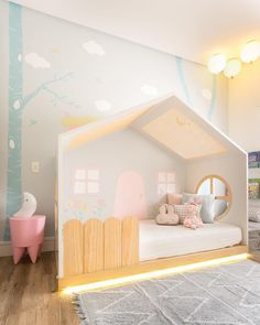 Find out more amazing and exclusive lighting for kids' bedroom! Modern Kids Bedroom, Cool Kids Bedrooms, Kids Bedroom Designs, Baby Room Design, Baby Room Decor, Girls Bedroom, Bedroom Decor, Toddler Rooms, Little Girl Rooms