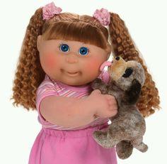 Beautiful!!! Vintage Cabbage Patch Dolls, Pound Puppies, Cabbage Patch Kids Dolls, Journey Girls, Childhood Movies, Garbage Pail Kids, Ag Dolls, Soft Sculpture, Vintage Dolls