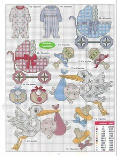 This Pin was discovered by Osc Baby Cross Stitch Patterns, Cross Stitch For Kids, Cross Stitch Boards, Mini Cross Stitch, Cross Stitch Needles, Cross Stitch Designs, Cross Stitching, Cross Stitch Embroidery, Everything Cross Stitch