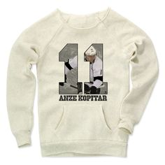 Anze Kopitar Game S Los Angeles Officially Licensed NHLPA Women's MANIAC Sweatshirt S-XL