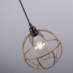 Lámpara colgante FRAME Luxe A cobre Aplique PIOMBINO 1 óxido #interiorismo #deco #homedeco
