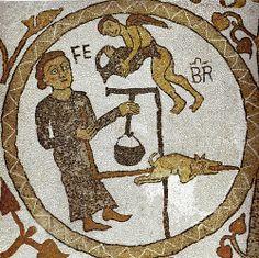 Februar  Puglia Cattedrale di Otranto mosaico    #TuscanyAgriturismoGiratola