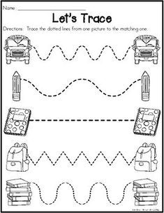 This Preschool (Pre-K) Back to School Packet is perfect for little learners! There are math and literacy worksheet printables included in this pack! Use for morning work, centers, stations, or homework! Back To School Worksheets, Pre K Worksheets, Printable Preschool Worksheets, Preschool Homework, Preschool Classroom, Homework For Preschoolers, Math Literacy, Kindergarten, Pre K Activities