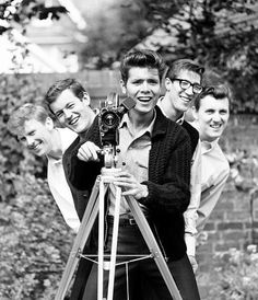Cliff Richard and the Shadows.