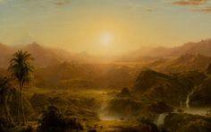 Le Prince Lointain: Frederic Edwin Church (1826-1900), The Andes of Ecuador - 1855