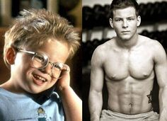 That kid from 'Jerry Maguire' is ALL kinds of grown up. - 6 pack and all!