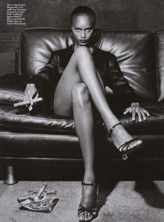 The Fabulous Margareth Lahoussaye Duvigny by Helmut Newton 1997