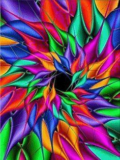"""coolartonline: """"martinartfanatic: """"colorful gif """" art"""""""