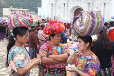 Guatemala con mujeres trabajadoras