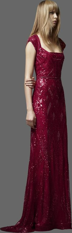 Elie Saab Pre-Fall 2012 Fashion Show Collection: See the complete Elie Saab Pre-Fall 2012 collection. Look 36 Elie Saab, Beautiful Gowns, Beautiful Outfits, Simply Beautiful, Red Fashion, Fashion Show, Event Dresses, Maxi Dresses, Formal Dresses