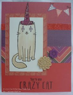 The Inky Scrapper: August Stamp of the Month Blog Hop: Purr-fect Halloween