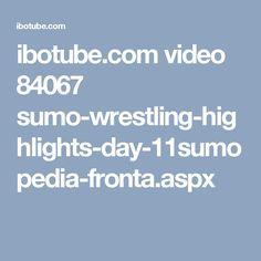ibotube.com video 84067 sumo-wrestling-highlights-day-11sumopedia-fronta.aspx