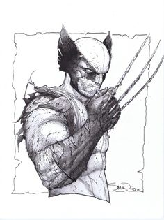 Wolverine by Steve McNiven. Love this.