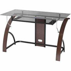 Bellvue Desk, Espresso Finish - Walmart.com