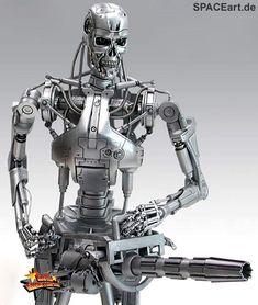 Terminator 2: T-800 Endoskelett - Deluxe Figur, Fertig-Modell ... http://spaceart.de/produkte/te007.php